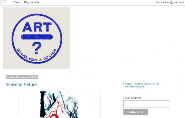 Avenir de l art blog