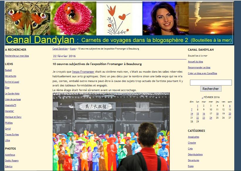 Canal dandyland blog