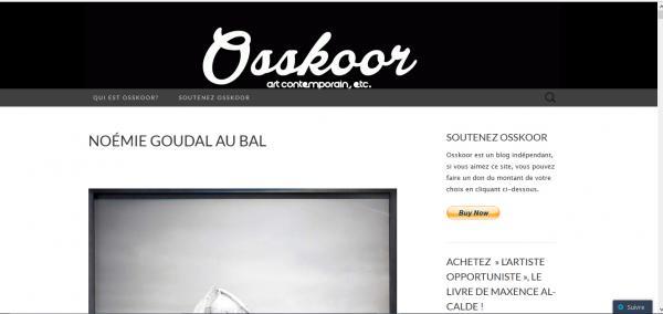 Osskoor blog